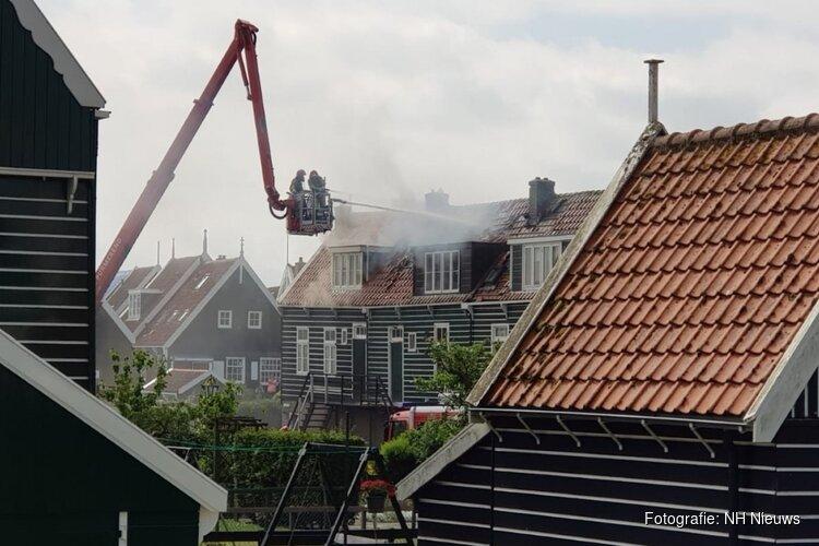 Marken springt in de bres voor bewoners van afgebrande huizen