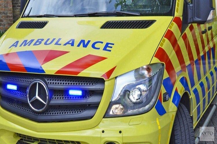 Wielrenner gewond na botsing Kanaaldijk Landsmeer