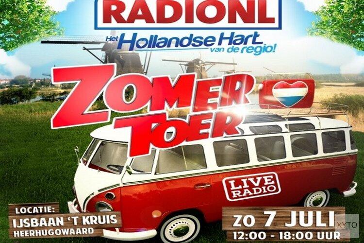 RADIONL Zomertoer terug op IJsbaan 't Kruis: Groots muziekspektakel met o.a. Frans Duijts, John de Bever, Henk Dissel e.v.a