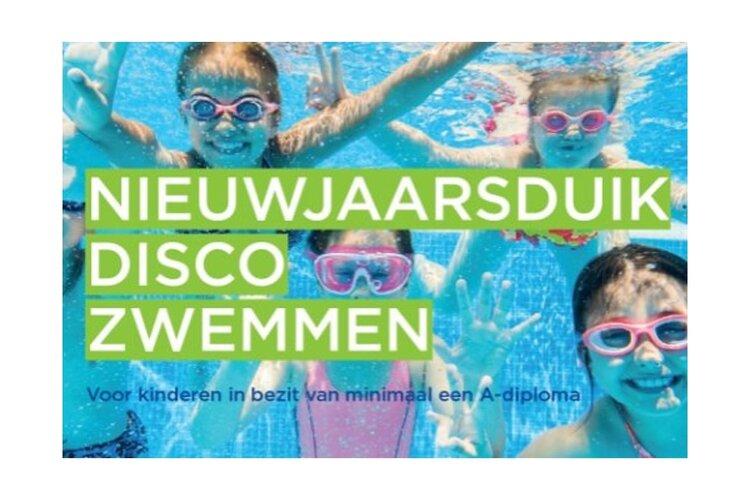 Nieuwjaarsduik Discozwemmen in Monnickendam