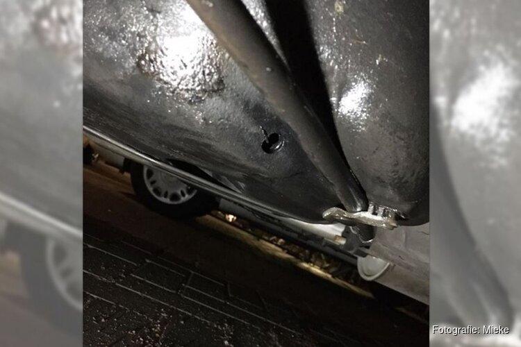 """Dieven stelen benzine door gat in tank te boren: """"Dit gaat me 700 euro kosten"""""""