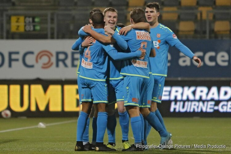 FC Volendam is spanning de baas