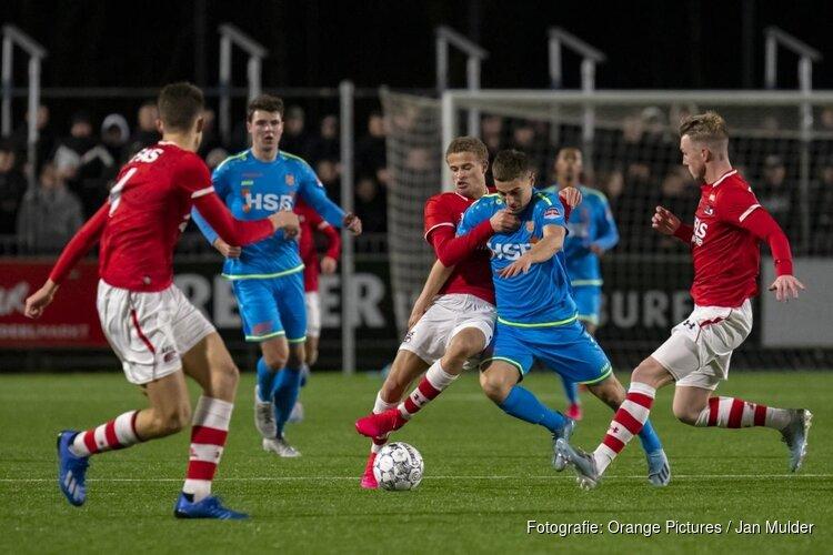 Jong AZ in slotfase naast FC Volendam