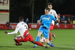 Pas op de plaats voor FC Volendam in titelstrijd