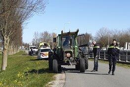 Fietser gewond door ongeval met tractor