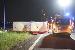 Dodelijk verkeersongeval, bestuurder andere auto meldt zich alsnog