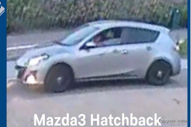 Mazda 3 door rechercheteam in beslag genomen