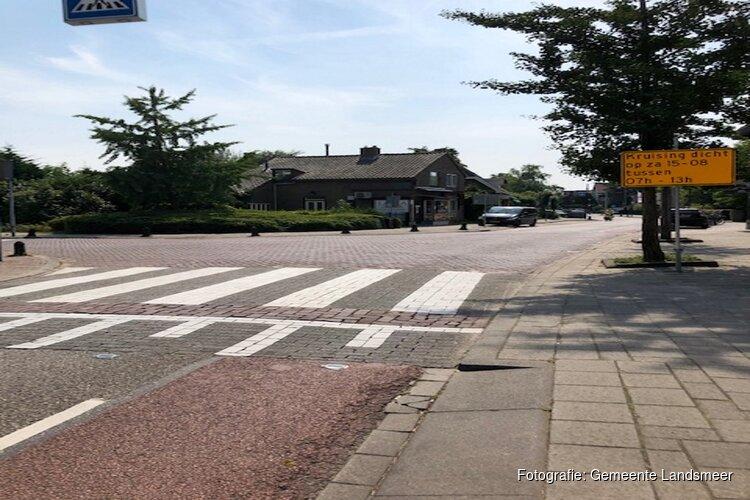 Werkzaamheden kruising Dorpsstraat-Raadhuisstraat