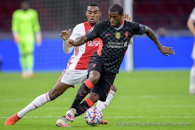 Ajax nipt onderuit tegen Liverpool